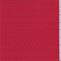 Lava Red Leno Shirting
