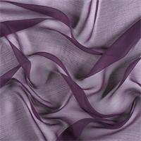 *2 YD PC--Eggplant Crinkled Silk Chiffon