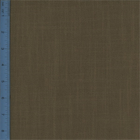 Plain-Weave Canvas Brown Home Decorating Fabric