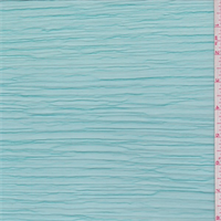 Aquamarine Pleated Mesh