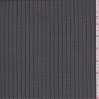 Black Satin Stripe Chiffon