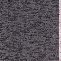 Black/Grey Burnout T-Shirt Knit