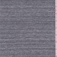 Heather Slate Grey Rayon  Jersey Knit