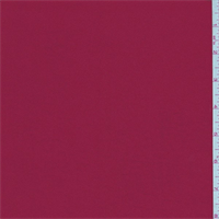 Rio Red Polyester Crepe