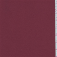 Brick Red Polyester Crepe