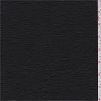 Black Shimmer Crinkled Crepe