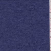 Violet Blue Shimmer Crinkled Crepe