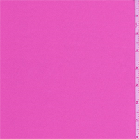 Bubblegum Pink Polyester Satin
