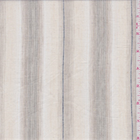 Natural/Beige Stripe Linen