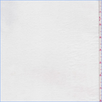 Chalk White Polyester Twill Lawn