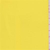 Glow Yellow Crinkled Crepe de Chine