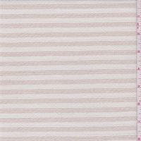 Sandy Beige/White Textured Suiting