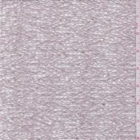 Dusty Pink Boucle Crochet Lace