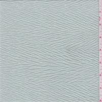 Misty Green Crinkled Herringbone Jersey Knit