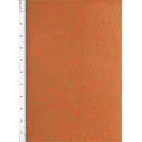 Designer Tangelo Orange Rhythm Chenille Home Decorating Fabric