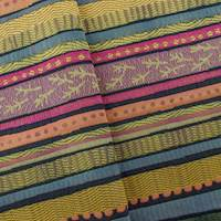 Bayadere Multicolor Stripe Home Decorating Fabric