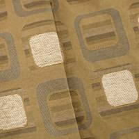 Beige/Brown Jacquard Square Home Decorating Fabric