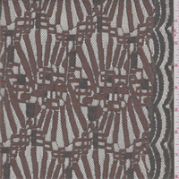Mocha/Olive Modern Lace