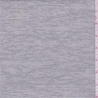 Pale Grey Slubbed Sweater Knit
