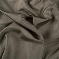 *1 YD PC--Dark Olive Silk Crepe de Chine