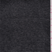 Black Heather Rayon T-Shirt Knit