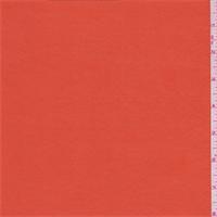 Clementine Orange Shimmer Jersey Knit