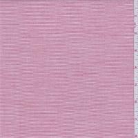 Red/White Pinstripe Linen Shirting