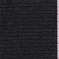 Coal Black Stripe T-Shirt Knit