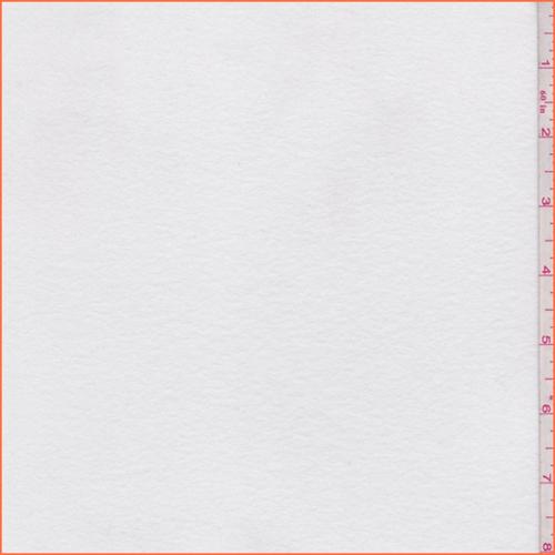 7675f399c49 White Fleece Back Jersey Knit - 60062 | Fashion Fabrics