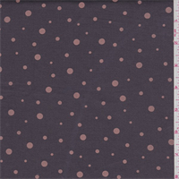 Aluminum Brown/Ginger Dot Stretch Twill