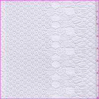 White Floral Crochet Lace