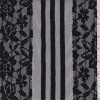 Black Floral Mesh Lace