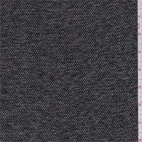 Black/Brown Tweed Suiting