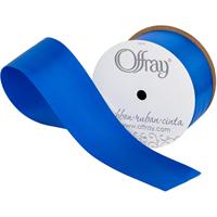 Single Face Satin Ribbon 2-1/4X10yd-Royal Blue
