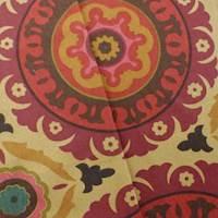 Designer Cotton Multicolor Solar Flair Medallion Print Home Decorating Fabric