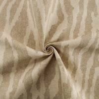 Designer Cotton Zebra Beige Print Home Decorating Fabric