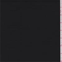 *3 YD PC--Black Polyester Stretch Twill