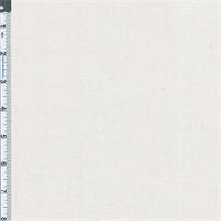 *2 1/4 YD PC--White 6 oz Stretch Linen Blend
