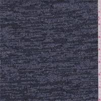 Deep Blue/Silver Sweater Knit