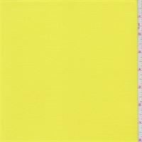Sunbeam Yellow Polyester Crepe Knit