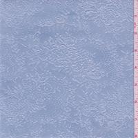 Sky Blue Floral Jacquard Knit
