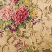 Designer Cotton Multi Cambria Floral Print Decorating Fabric