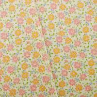 Designer Cotton Multi Floral Print Decorating Fabric