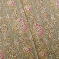 Designer Cotton Multi Crosby Floral Print  Decorating Fabric