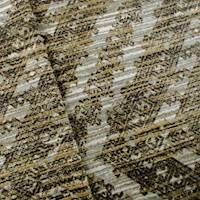 Designer Brown/Gray Mineral Rustique Cotton Print Home Decorating Fabric
