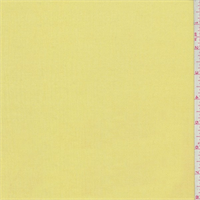 Bright Lemon Yellow Rayon Gauze