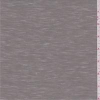 Steeple Grey Slubbed Jersey Knit