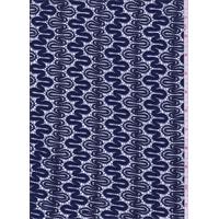 Sapphire Blue Scallop Lace