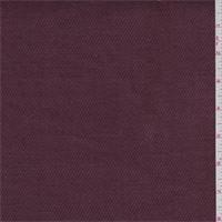 Maroon Twill Linen