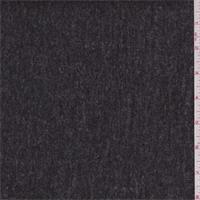 Heather Charcoal Grey Wool Coating